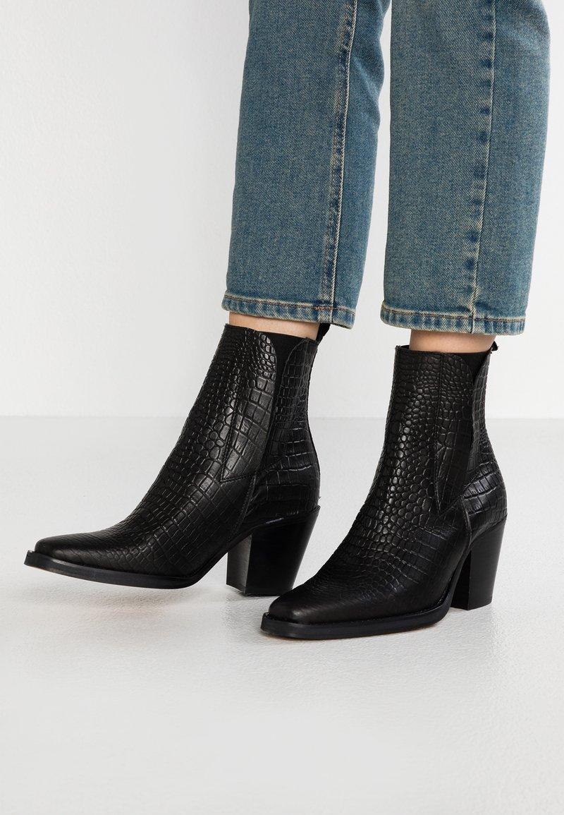 Topshop - MASON - Classic ankle boots - black