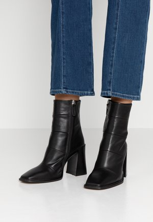 HARTLEY BOOT - High heeled ankle boots - black