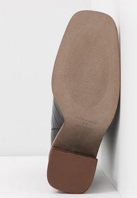 Topshop - HERTFORD BOOT - Kotníková obuv na vysokém podpatku - black - 6