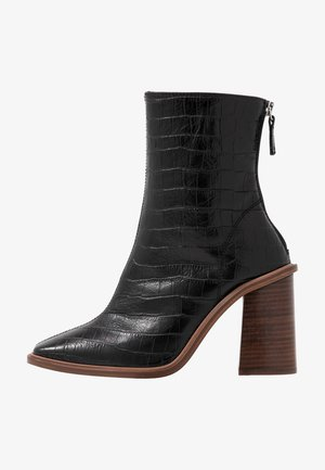 HERTFORD BOOT - Bottines à talons hauts - black