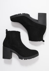 Topshop - BYRON UNIT - High heeled ankle boots - black - 3