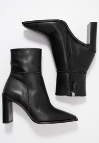 Topshop - HERO BOOT - High heeled ankle boots - black - 3