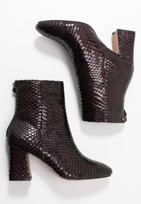 Topshop - BELIZE SMART BOOT - Classic ankle boots - burgundy - 3