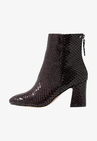 Topshop - BELIZE SMART BOOT - Classic ankle boots - burgundy - 1