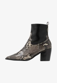 Topshop - BLISS WESTERN BOOT - Classic ankle boots - black - 1