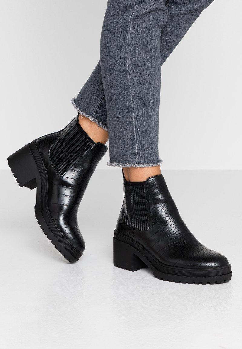 Topshop - BRIXTON CHELSEA - Ankle Boot - black