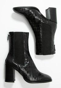 Topshop - HUNTINGTON BOOT - Bottines - black - 3