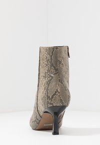 Topshop - MACI POINT BOOT - Ankle boots - nude - 5