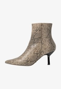Topshop - MACI POINT BOOT - Ankle boots - nude - 1