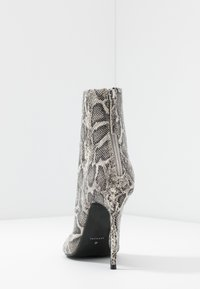 Topshop - EDA POINT BOOT - High heeled ankle boots - grey - 5