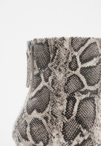Topshop - EDA POINT BOOT - High heeled ankle boots - grey - 2