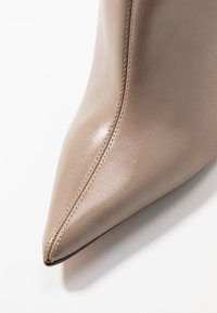 Topshop - EDA POINT BOOT - High heeled ankle boots - taupe/beige - 2