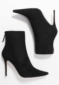 Topshop - EDA POINT BOOT - High heeled ankle boots - black - 3