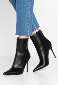 Topshop - EDA POINT BOOT - High heeled ankle boots - black - 0