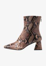 BREEZE SQUARE TOE  - Classic ankle boots - natural