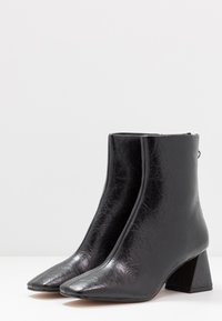 Topshop - BREEZE SQUARE TOE  - Classic ankle boots - black - 4