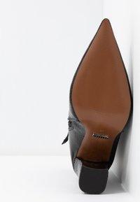 Topshop - HARRI POINT BOOT - Stivaletti con tacco - black - 6
