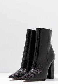 Topshop - HARRI POINT BOOT - Stivaletti con tacco - black - 4