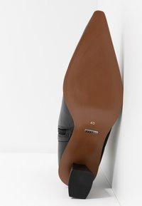 Topshop - MAILE POINT BOOT - Korte laarzen - black - 6