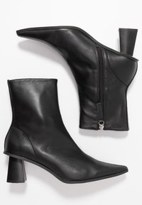 Topshop - MAILE POINT BOOT - Classic ankle boots - black - 3