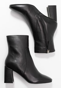 Topshop - MABEL BLOCK BOOT - Botines - black