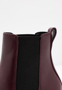 Topshop - HARBOUR CHELSEA - High heeled ankle boots - burgundy - 2