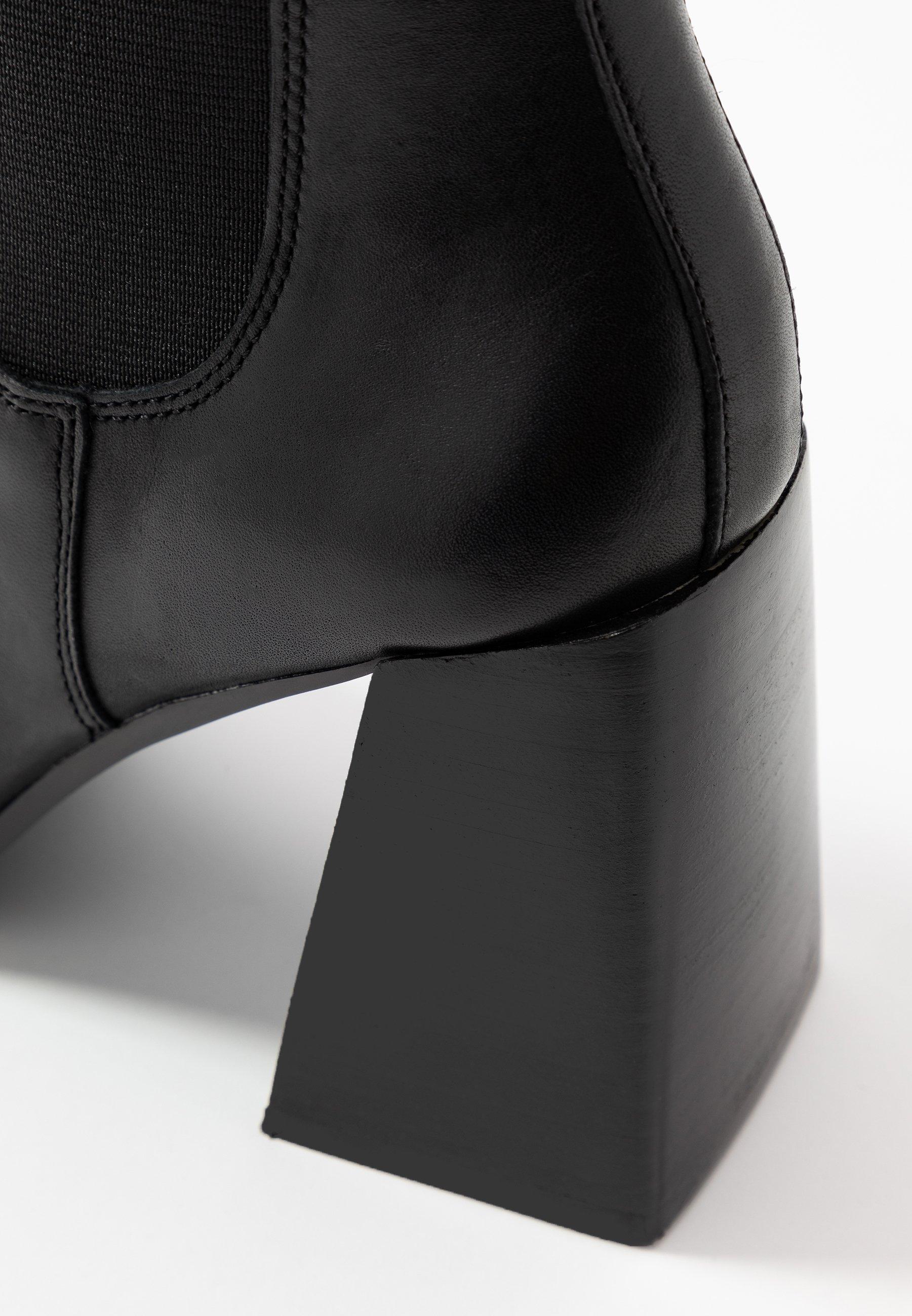 Topshop HARBOUR CHELSEA - Klassiska stövletter - black