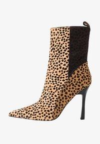 Topshop - HOLLY POINT BOOT - Kotníková obuv na vysokém podpatku - multicolor - 1