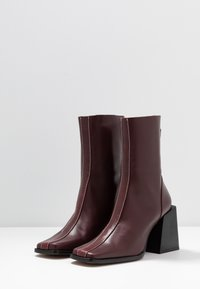Topshop - HADES BOOT - Bottines - red - 4