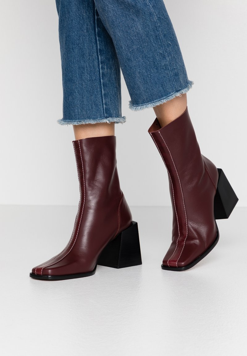 Topshop - HADES BOOT - Bottines - red