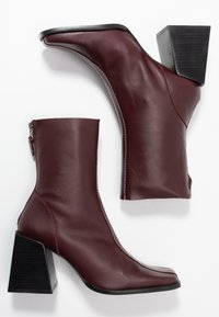 Topshop - HADES BOOT - Bottines - red - 3