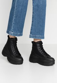 Topshop - KALIPSO CHUNKY  - Ankle boots - black - 0
