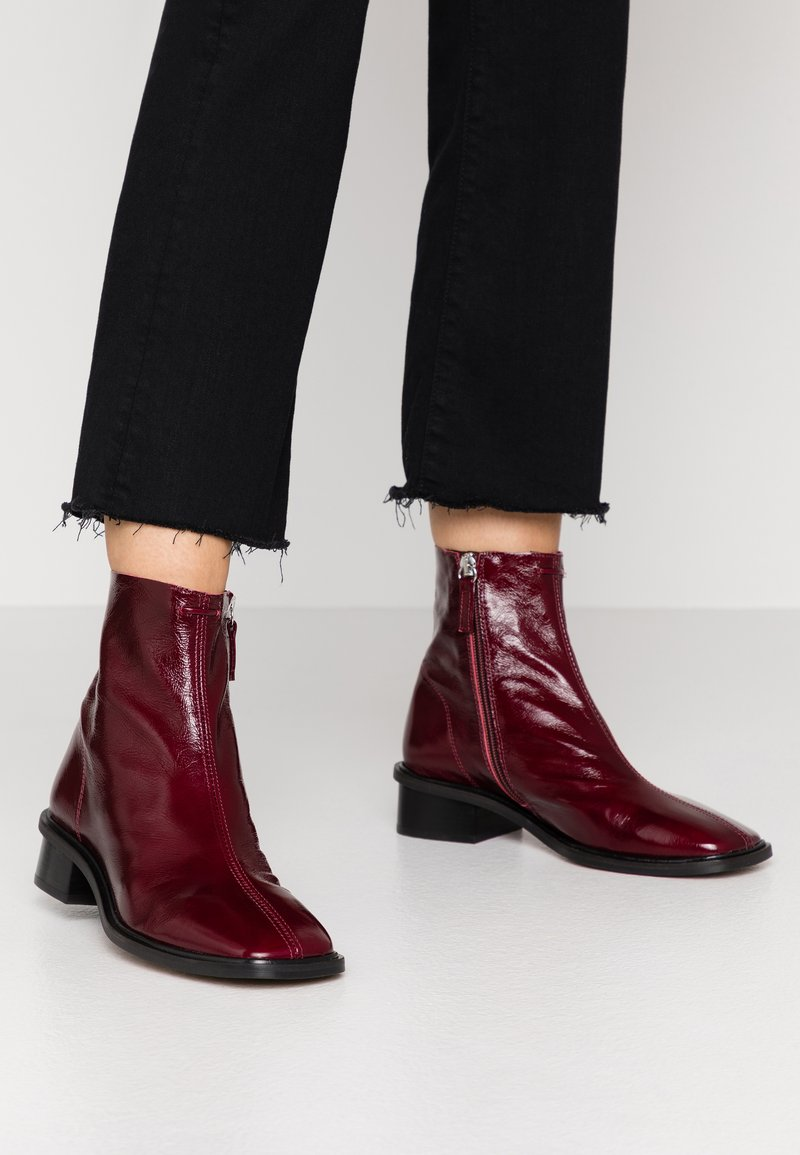 Topshop - ARROW  BOOT - Stivaletti - burgundy