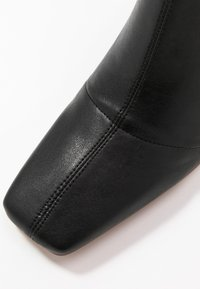 Topshop - HAMMOND SOCK BOOT - High heeled ankle boots - black - 2
