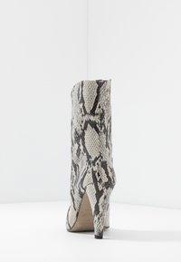 Topshop - VEGAN VILLA BOOT - High heeled ankle boots - natural - 5