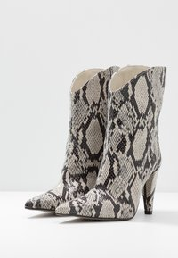 Topshop - VEGAN VILLA BOOT - High heeled ankle boots - natural - 4