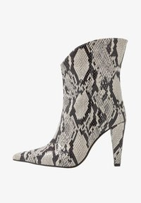 Topshop - VEGAN VILLA BOOT - High heeled ankle boots - natural - 1