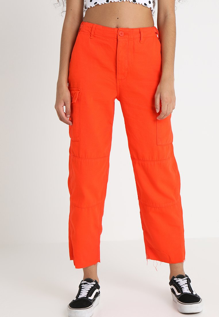 Topshop - SUNNY TROUSER - Broek - orange