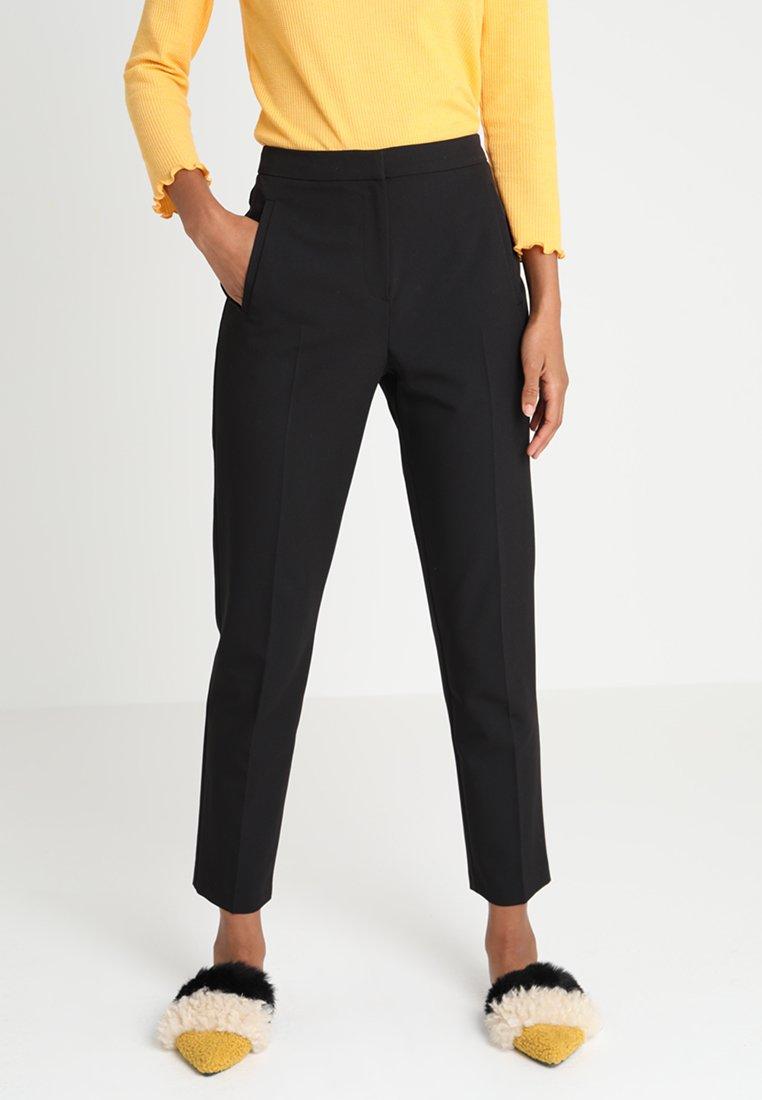 Topshop - CIGARETTE TROUSER - Pantalon classique - black