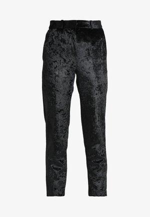 BONDED TROUSER - Trousers - black