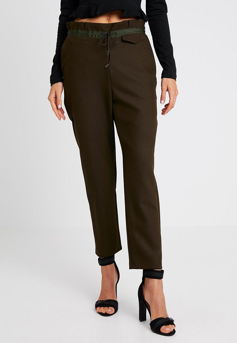 Topshop - LUXE  - Trousers - khaki