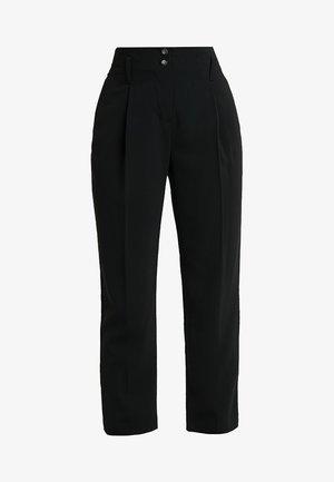 PERCY PEG - Pantaloni - black