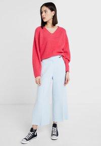 Topshop - Pantalones - pale blue - 1