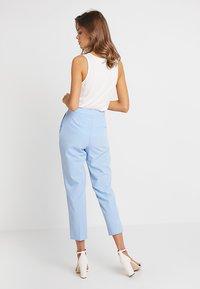 Topshop - TAYLOR - Pantalones - pale blue - 2