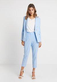 Topshop - TAYLOR - Pantalones - pale blue - 1