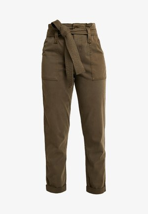 POPPER UTILITY UPDATE - Trousers - khaki