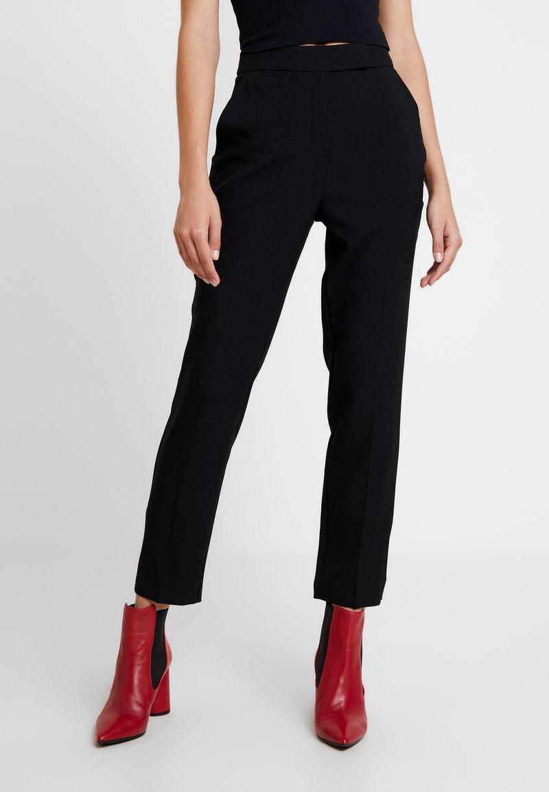 Topshop - MARKIE - Trousers - black