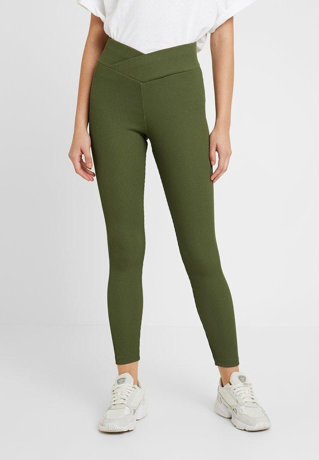 BALLET - Leggings - Trousers - khaki