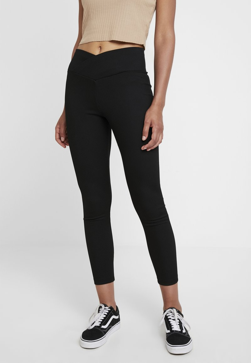 Topshop - BALLET - Leggings - Hosen - black
