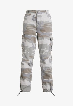 PALE CAMO FRIDA - Trousers - khaki